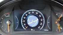 Zugwagen: Test, Opel Insignia, Zentraldisplay