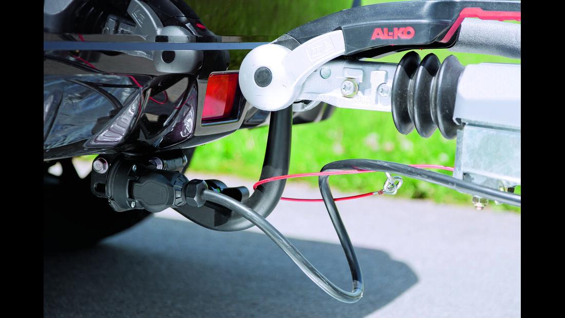 Zugwagen-Test: Subaru XV, CAR 08/2012 - Anhängerkupplung