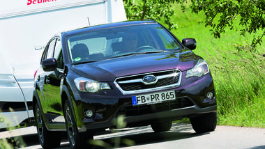 Zugwagen-Test: Subaru XV, CAR 08/2012 - Gespann