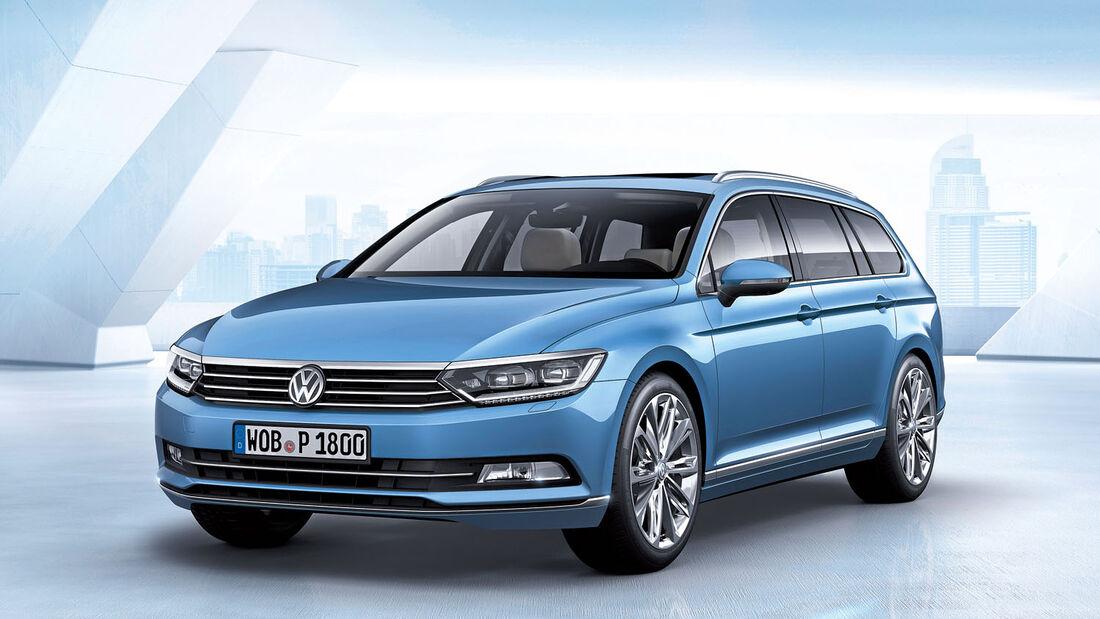 Zugwagen: VW Passat
