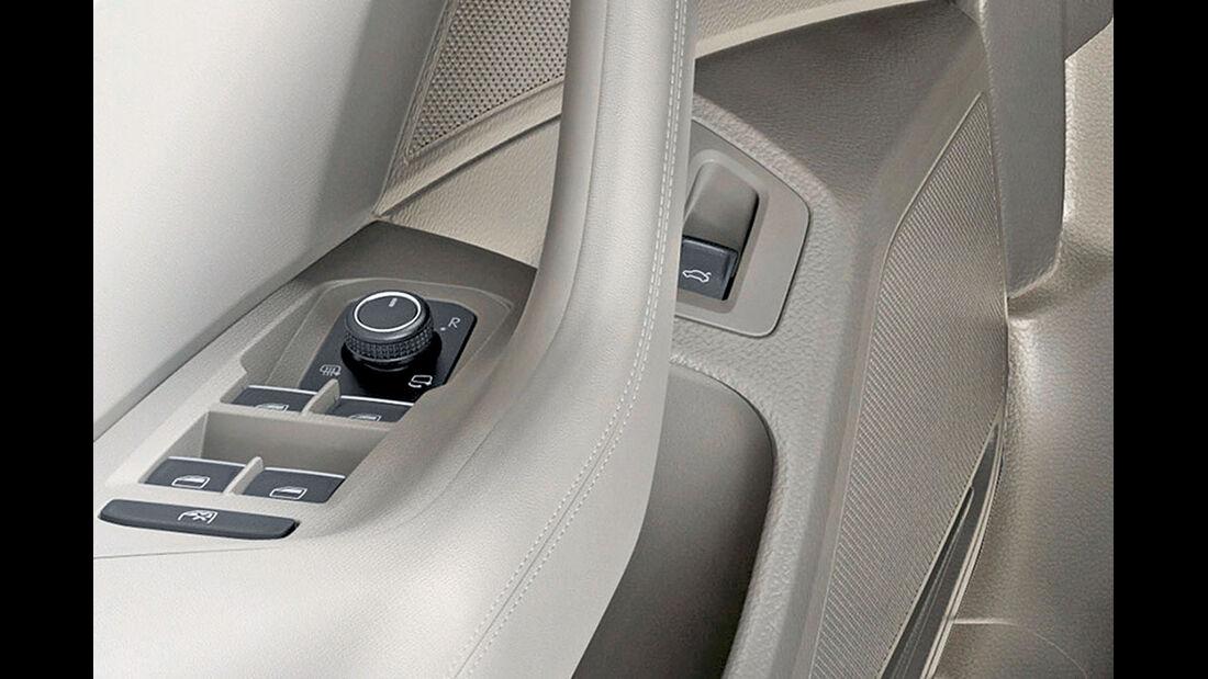 Zugwagen: VW Passat, Joystick