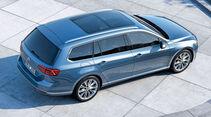 Zugwagen: VW Passat, Zweiliter-TDI mit DSG