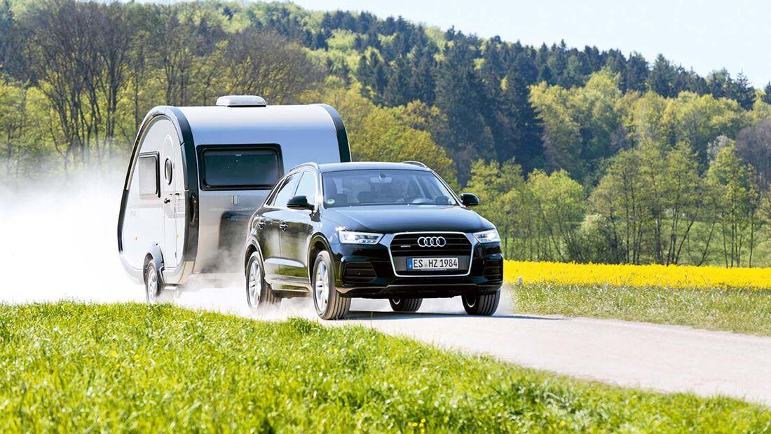 Zugwagen mit T@b 320 RS Offroad