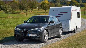 Zugwagentest Alfa Stelvio - Titel