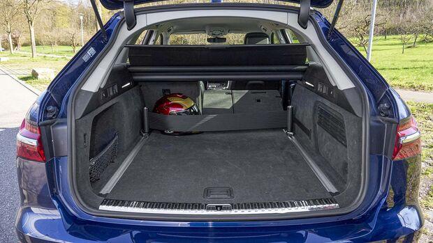 Zugwagentest Audi A6 Avant Quattro