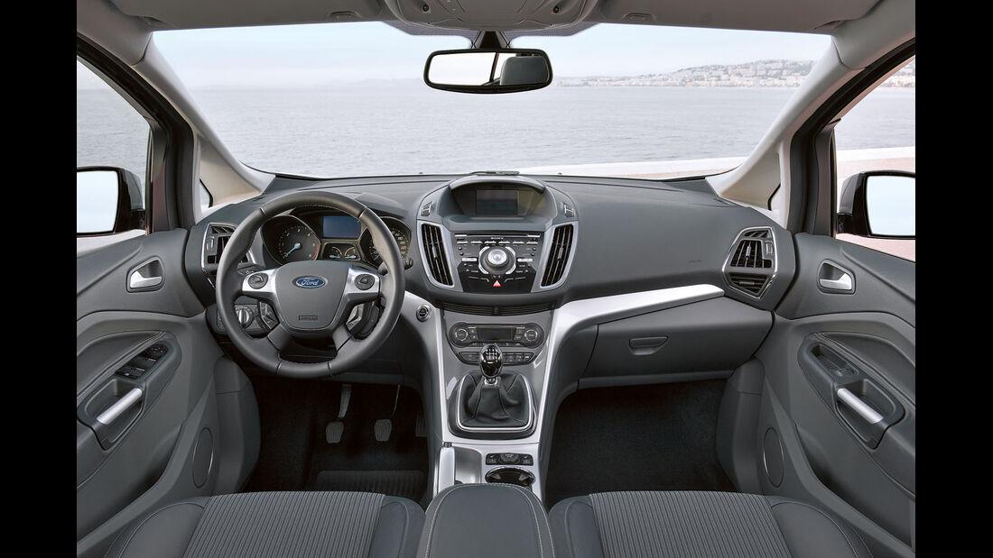 Zugwagentest: Ford Grand C-Max, CAR 07/2012 - Cockpit