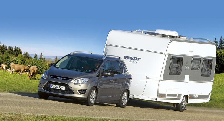 test ford grand c max was geht kleiner caravaning. Black Bedroom Furniture Sets. Home Design Ideas