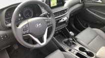 Zugwagentest Hyundai Tucson 2.0 CRDi