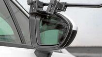 aerodynamisches Spiegelgehäuse nicht für Klemmspiegel geeignet beim Opel Astra
