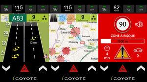 iCoyote App für Verkehrsinfos in Europa